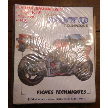 Fiches Motos II -  Revue Technique Classeur