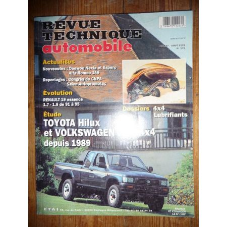 Hilux-Taro Revue Technique Toyota