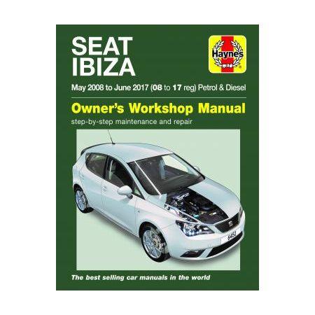 IBIZa 08-17 Revue Technique Haynes SEAT Anglais