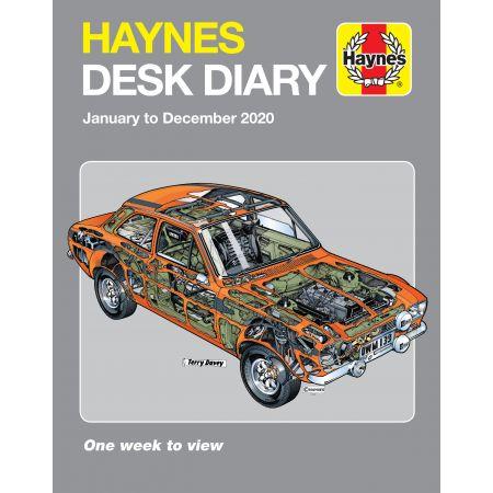 2020 Desk Diary Revue Technique Haynes Anglais