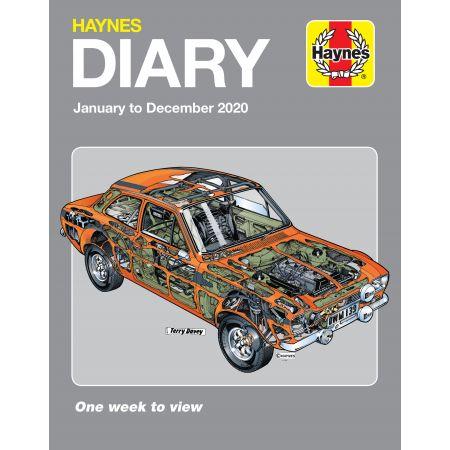 2020 Diary Revue Technique Haynes Anglais