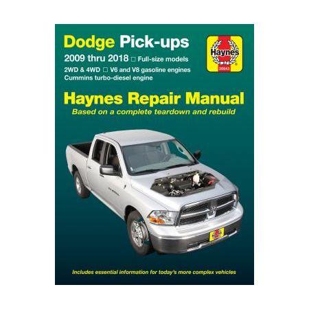 RAM 1500 09-10 Revue Technique Haynes DODGE Anglais