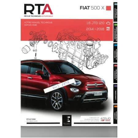 500X 14-18 JTD Revue Technique FIAT