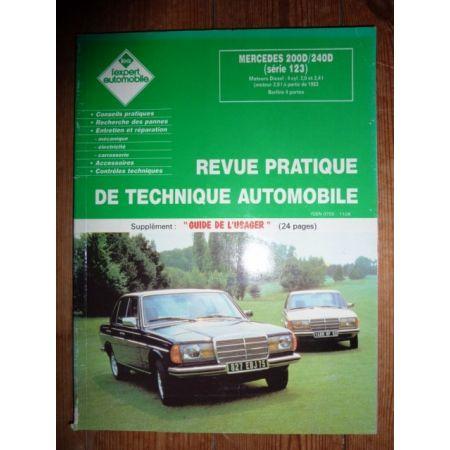 200D 240D W123 Revue Technique Mercedes