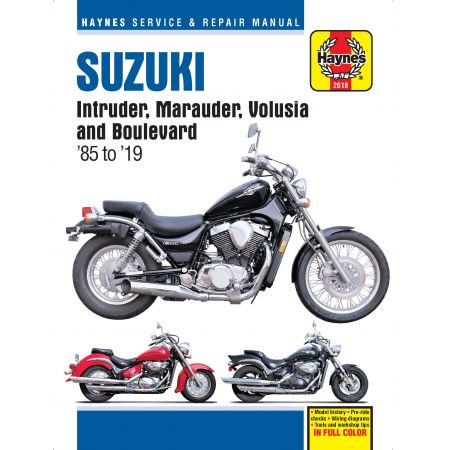 Intruder, Marauder, Volusia Manual SUZUKI Anglais