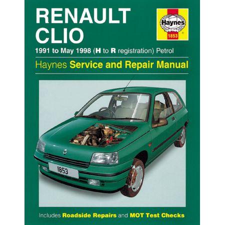 Clio Petrol 91-98 Revue technique Haynes RENAULT Anglais