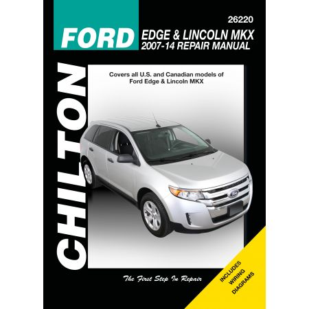 Edge MKX 07-13 Revue Technique Haynes Chilton FORD LINCOLN Anglais