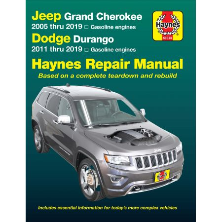Grand Cherokee 05-18 Revue Technique Haynes JEEP Anglais