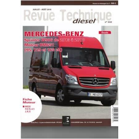 Sprinter 13-18 Revue Technique Mercedes-Benz