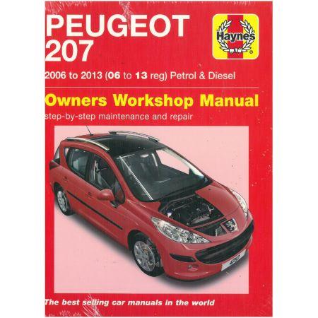 207 06-13 Revue technique Haynes PEUGEOT Anglais