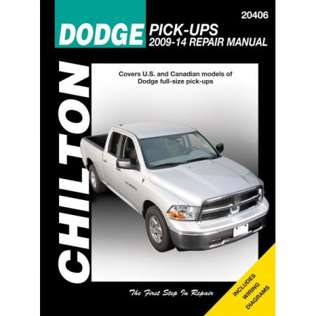 Pick-up 09-14 Revue technique Chilton DODGE Anglais