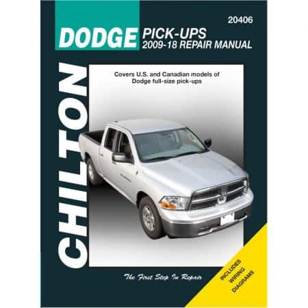 Pick-Up 09-12 Revue Technique Haynes Chilton DODGE Anglais