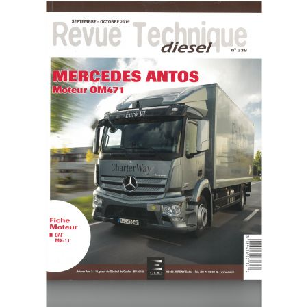 Antos - Revue Technique Mercedes-Benz
