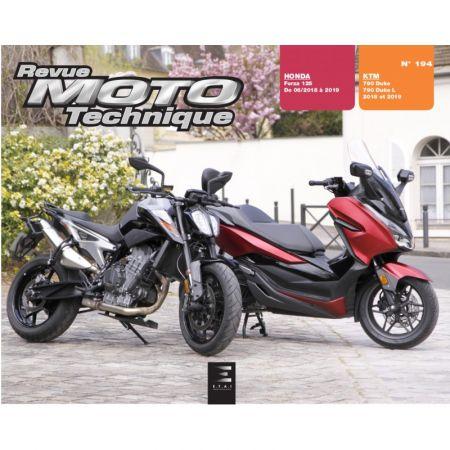 HONDA FORZA - 790 DUKE 18-19 -Revue Technique moto HONDA KTM