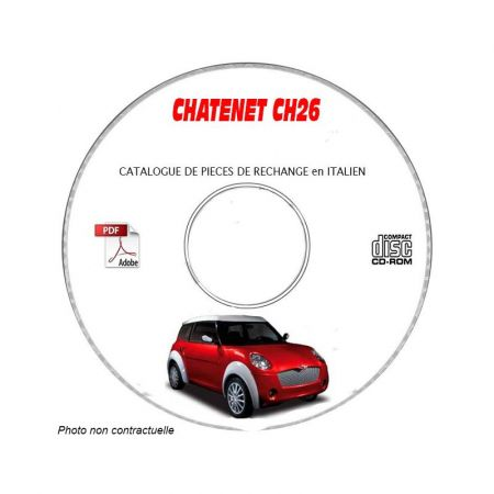 CH26 Catalogue Pieces CDROM CHATENET
