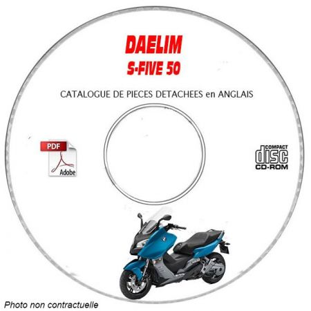 S-FIVE 50 Catalogue Pieces CDROM DAELIM Anglais