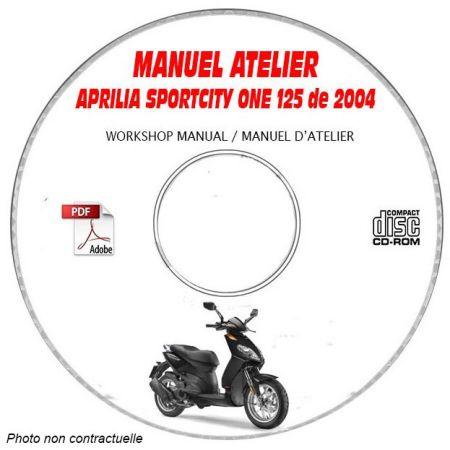 MANUEL D'ATELIER SPORT CITY ONE 125
