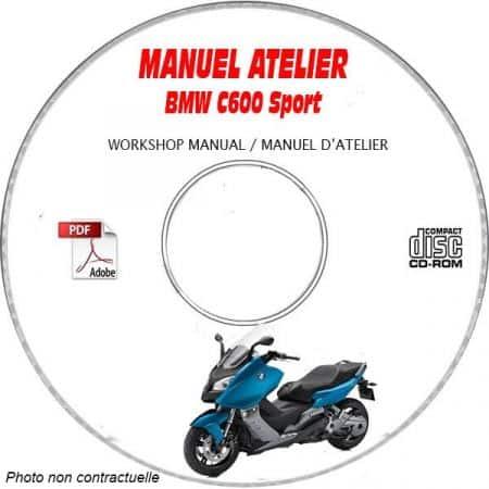 C600 Sport Manuel Atelier BMW CDROM Revue technique
