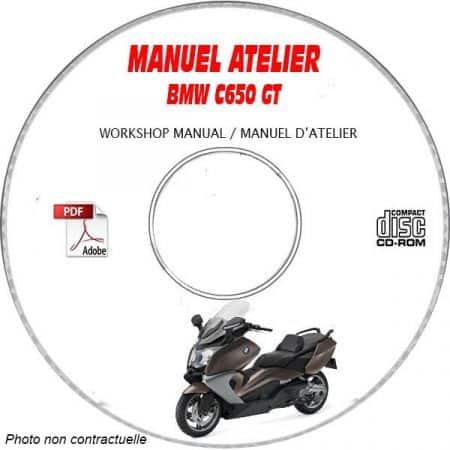 C650 GT Manuel Atelier BMW CDROM Revue technique