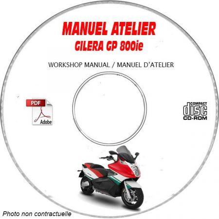 GP 800ie -08 Manuel Atelier CDROM GILERA FR