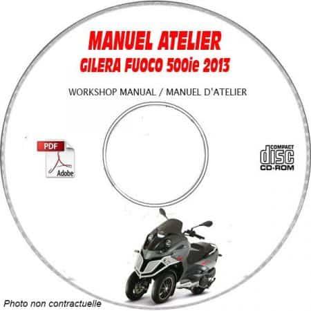 FUOCO 500ie 13 Manuel Atelier CDROM GILERA FR