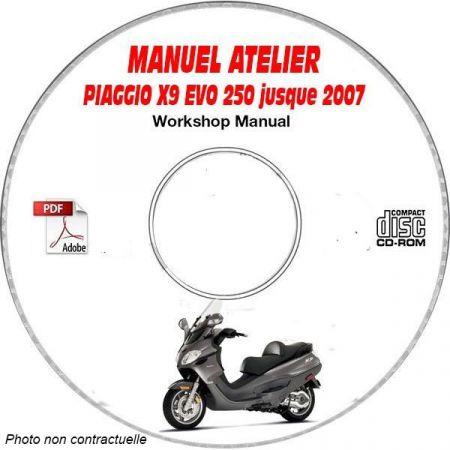 MANUEL D'ATELIER X9 EVOLUTION 250