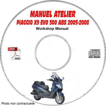 MANUEL D'ATELIER X9 EVOLUTION 500 ABS