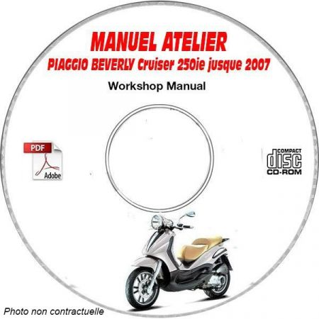 MANUEL D'ATELIER BEVERLY CRUISER 250ie