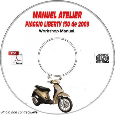 LIBERTY 150 09 Manuel Atelier CDROM PIAGGIO FR