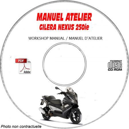 NEXUS 250 -06 Manuel Atelier CDROM GILERA FR