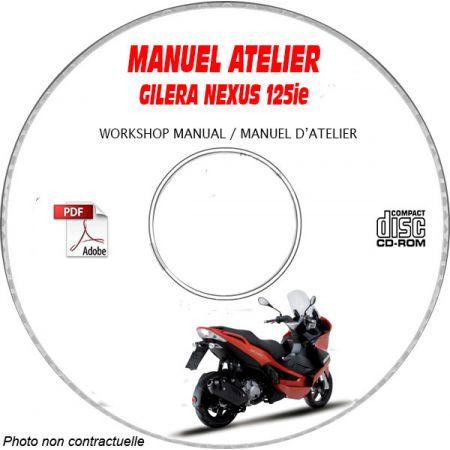 NEXUS 125ie 08- Manuel Atelier CDROM GILERA FR