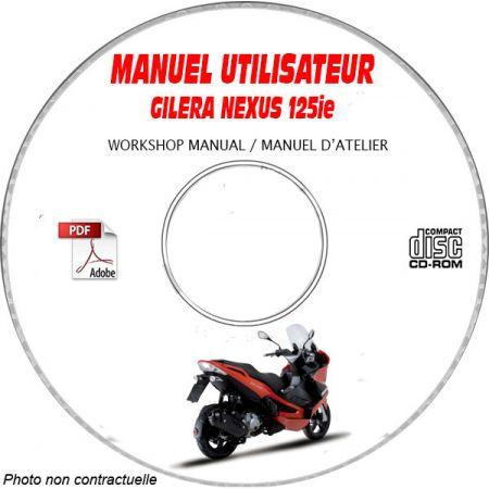 NEXUS 125ie 08- Manuel Utilisateur CDROM GILERA FR