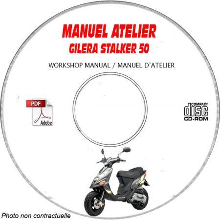STALKER 50 -07 Manuel Atelier CDROM GILERA FR