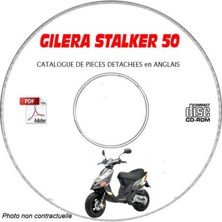 STALKER 50 -05 Manuel Utilisateur CDROM GILERA FR