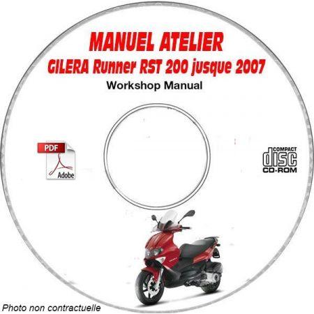 RUNNER RST 200 -07 Manuel Atelier CDROM GILERA FR