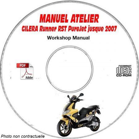 RUNNER RST PUREJET -07 Manuel Atelier CDROM GILERA FR