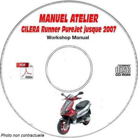 RUNNER PUREJET -07 Manuel Atelier CDROM GILERA FR