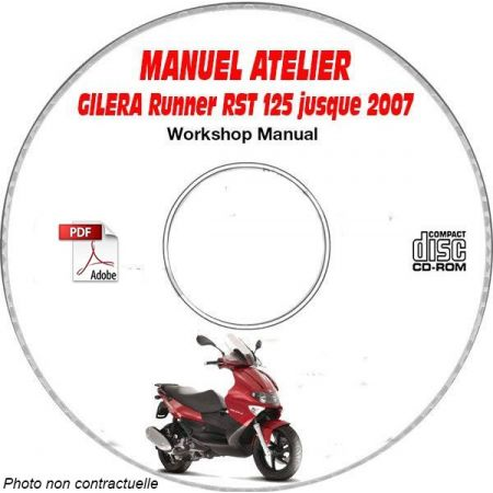RUNNER RST 125 -07 Manuel Atelier CDROM GILERA FR