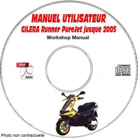 RUNNER PUREJET -05 Manuel Utilisateur CDROM GILERA FR