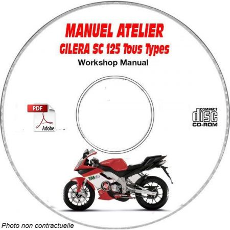 SC 125 Manuel Atelier CDROM GILERA FR