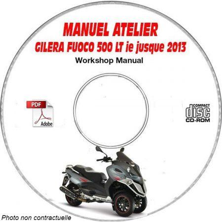 FUOCO 500 LT ie -13 Manuel Atelier CDROM GILERA FR
