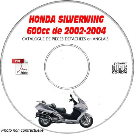 SILVERWING 600 02-04 - Catalogue Pieces CDROM HONDA