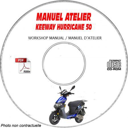 HURRICANE -06 Manuel Atelier CDROM KEEWAY Anglais