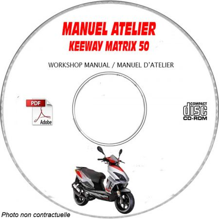 MATRIX 50 - Manuel Atelier CDROM KEEWAY Anglais