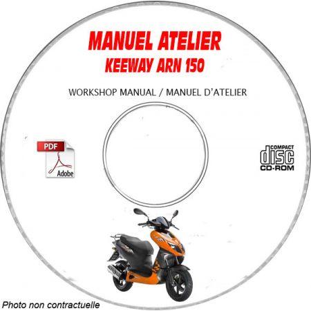 ARN 150 - Manuel Atelier CDROM KEEWAY Anglais
