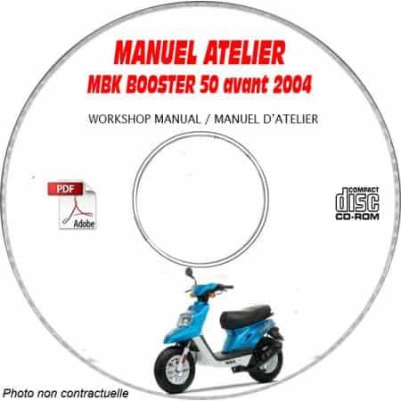 BOOSTER -04 Manuel Atelier CDROM MBK