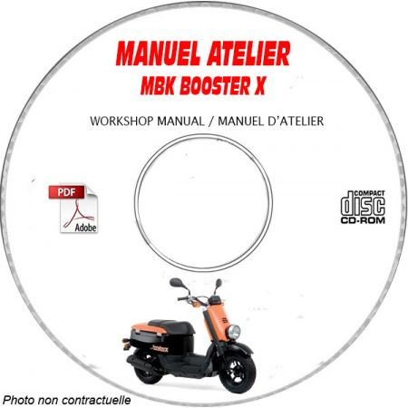 BOOSTER X -07 Manuel Atelier CDROM MBK