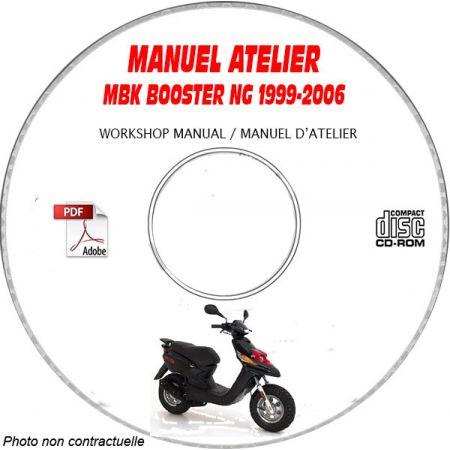 BOOSTER NG 99-06 Manuel Atelier CDROM MBK