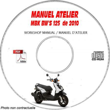 BW'S 125 2010 Manuel Atelier CDROM MBK