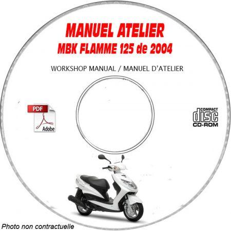 FLAMME 125 2004 Manuel Atelier CDROM MBK